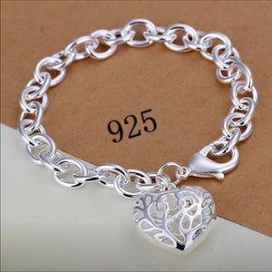 Jewelry - Silver Heart ❤️ bracelet (sooo beautiful)